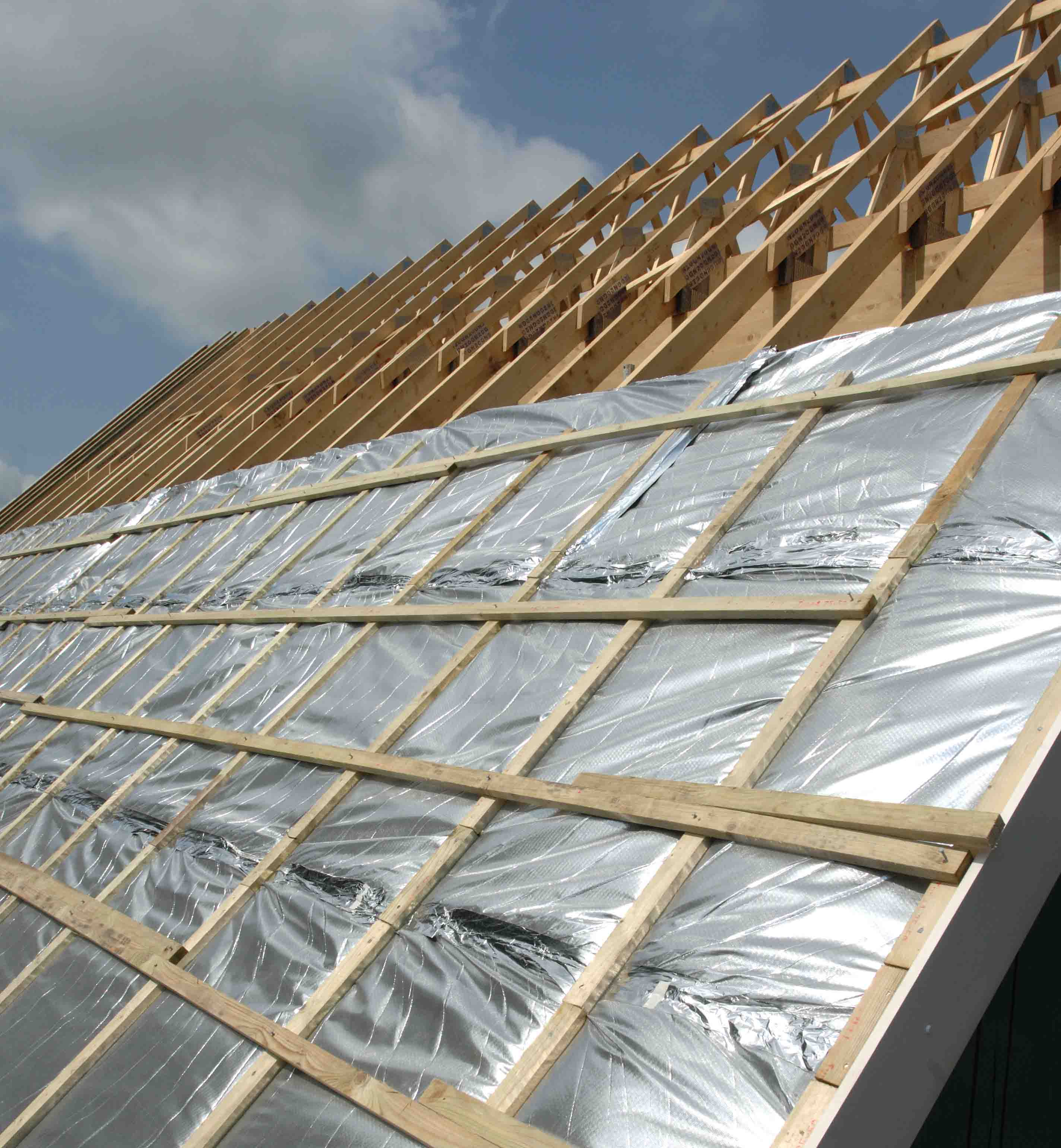Insulation Above Roof : Tlx thinsulex multi foil roof insulation suppliers we